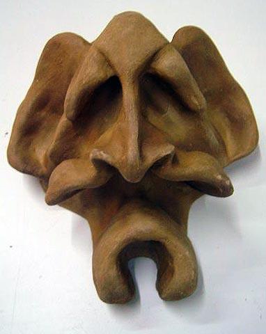 Máscaras: Visão frontal